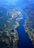 Columbia River at Cascade Lock Washington and Oregon 283