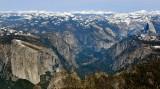 Yosemite Valley, El Capitan, Eagle Peak, Bridal Veil Falls, Sentinel Dome, Half Dome, Yosemite National Park, California 033