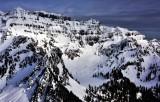 Twin Lakes Twin Peaks Columbia Peak Cascade Mountains Washington 373