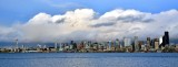 January Thunderstorm over Seattle Skyline and Puget Sound Washington 215