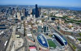 CenturyLink Field, Pioneer Square, Smith Tower, Seattle Tunnel, Alaskan Way Viaduct, Seattle Skyline, Washington State 089