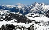 Twin Lakes, Twin Peaks, Silvertip Peak, Wilman Peaks, Mount Baker, Twin Sisters Mountain, Cascade Mountains, Washington  183