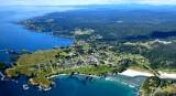 Mendocino, Mendocino Headlands State Park, Russian Gulch State Marine Conservation Area, California 085