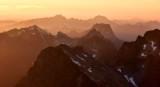 Looking at Three Fingers, Whitehorse Mountain, Twin Sisters Mountain, Cascade Mountains, Washington 182