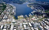 South Lake Union, Amazonland, MOHAI, Interstate 5, Gas Works Park, Seattle Washington 137a