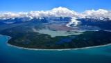 Mt Fairweather, Mt Tlinget, Fairweather Glacier,  Glacier Bay National Monument, Alaska 717