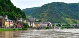 Cochem, St Martin Church, Moselle River, Germany 471