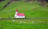 Reyniskirkja nearby Vik, Iceland 1451
