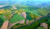 Palouse Hills of eastern Washington by Pullman 740