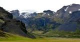 Stigafoss of Stigárjökull Glacier,  Öraefajökull Volcano, Iceland 612
