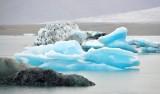 Icebergs in  Jökulsárlón glacial lagoon, Iceland 872