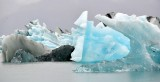 Icebergs in  Jökulsárlón glacial lagoon, Iceland 1054