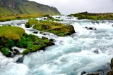 Waterfalls on Fossalar River, Iceland 1336
