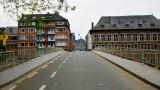 Rue du Pont, Musee archeologique de Namur, La Bourse, Namur, Belgium 045