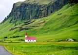 Reyniskirkja A Classic Icelandic-Style Church, Vik, Iceland 1756
