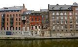 Buildings along Quai des Joghiers, Sambre River, Namur Belgium 060
