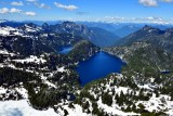 Chetwoot Lake, Angeline Lake, Big Heart Lake, Azurite Lake, Cascade Mountains, Washington 475