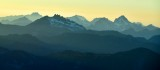 Sunset across the Cascade Mountains, Washington State 375