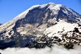 Mount Rainier National Park, Willis Wall, Russell Glacier,  Liberty Cap, Mowich Face, Carbon Glacier Washington 168