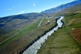 Turning base to final Gardiner airport, Montana 248