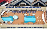 Swimming Pools on Cruise Ship, Seattle Waterfront, Washington 549