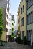 Lintgasse in Old Town Cologne, Germany 161