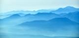 Smoke fills sky over Olympic Mountains, Washington 047