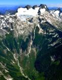 Dome Peak, Dome Glacier, Spire Creek, North Cascades Mountain, Washington 153