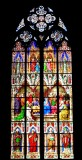 Kolner Dom stained glass window, Koln Germany 244