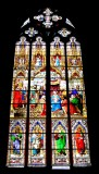 Kolner Dom stained glass window, Koln Germany 316