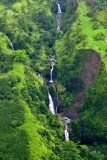 Waterfalls on Hanawi Stream below Hana Highway, Maui, Hawaii 189