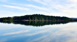 Reflection on Coos Bay in North Bend Oregon 509