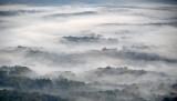 Morning fog over Charlottesville, Virginia 059
