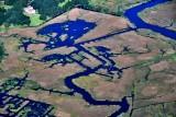 Marsh off Folly Creek and Plantation in Yemassee South Carolina 614