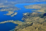 Steamboat Rock State Park, Devils Punch Bowl, Grand Coulee Dam Airport, Bank Lake, Electric City, Washington 362