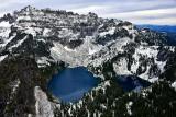 First Snow on Twin Lakes, Columbia Peak, Cascade Mountains, Washington 438
