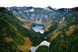 Big Greder Lake and Little Greder Lake above Spada Lake, Washington 030