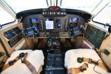 N291DB cockpit 396 King Air 350i