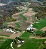 Large farms on Cedar Ridge Drive, Winona Minnesota 366
