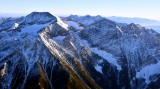 Mc Donald Peak in Mission Range, near Charlo Montana 1032