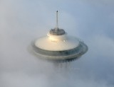 Space Needle hidden in Fog, Seattle, Washington 432