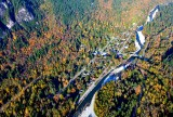 Town of Index and North Fork Skykomish River in Autumn, Washington 162