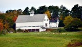 Large farm along Harpswell road, Maine 099