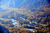 Town of Index and North Fork Skykomish River in Autumn, Washington 158