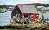 Red Shack at Macherel Cove, Bailey Island, Maine 595