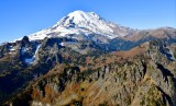 Mount Rainier National Park, Cowlitz Chimneys, Governors Ridge, Little Tahoma Peak, Steamboat Rock, Goat Island  Washington 956