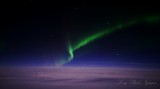 Northern Light over North Atlantic 239 from Cessna CJ-2