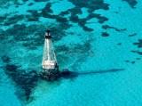 Alligator Reef Lighthouse and Alligator Reef, Florida Keys, Islamorada  090a
