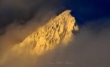 Sunset on McClain Peaks, Cascade Mountains, Washington State 344