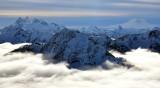 Iron Cap Mtn, Overcoat Peak, Chimney Rock and Glacier, Lemah Mtn, Thompson Peak, Mount Rainier, Washington State 340